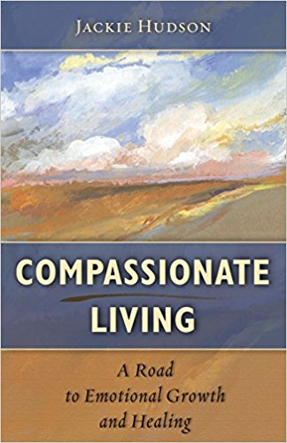 Jackie's book cover, Compassionate Living
